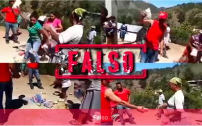 #LatamChequea No, este video no es de venezolanos botando comida en Colombia